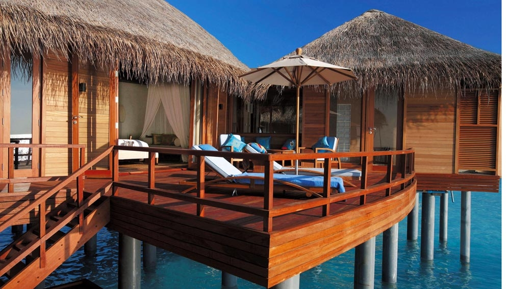 Anantara Over Water Suite Exterior