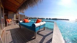 Over Water Bungalow deck