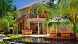 Double Storey Beach Villa