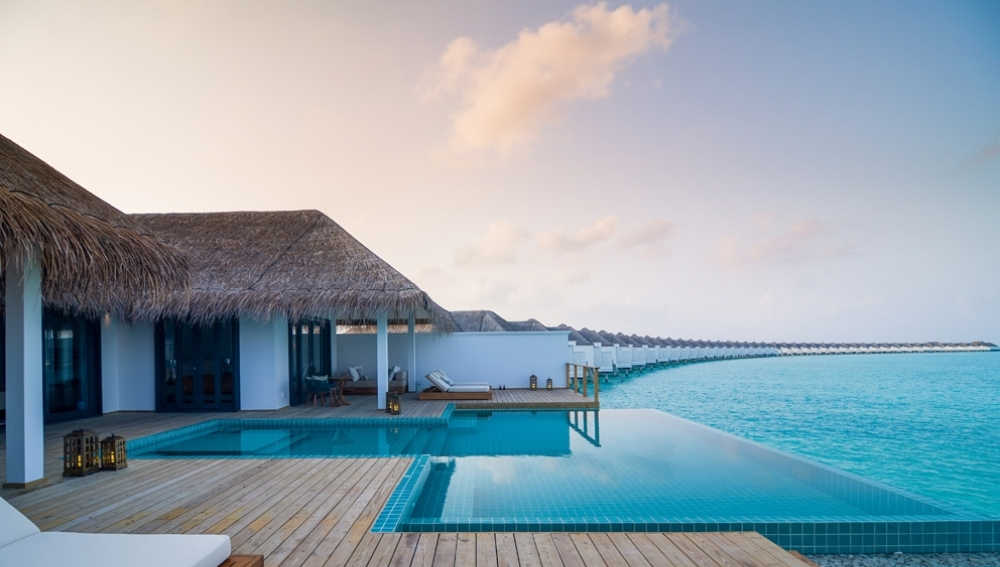 Finolhu Two Bedroom Ocean Lagoon Pool Villa