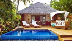 Maldives Beach Villa with Private Pool