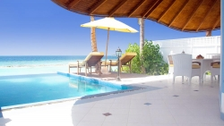 Two Bedroom Luxury Beach Front Pool Villa