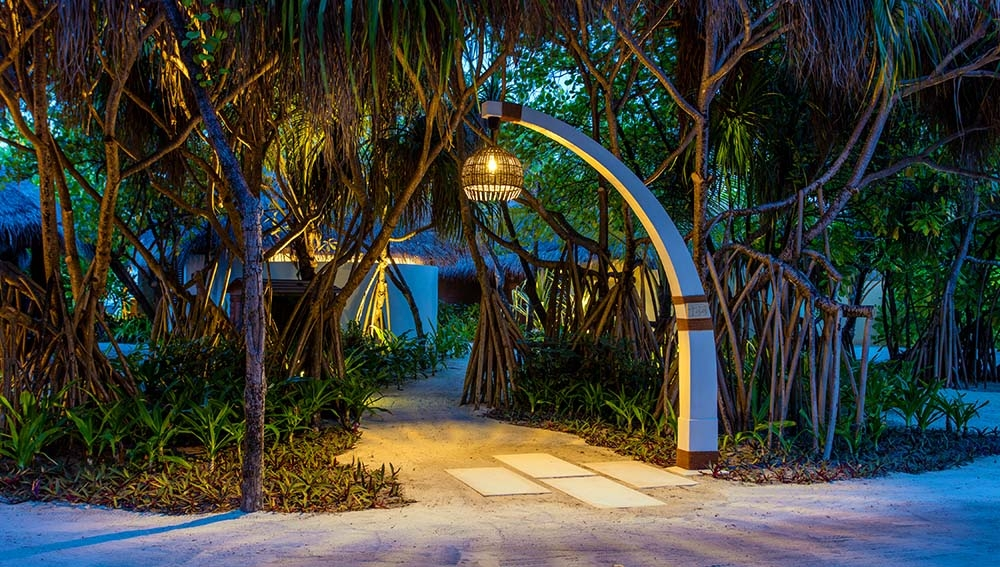 Walkway to Villas and Bungalows
