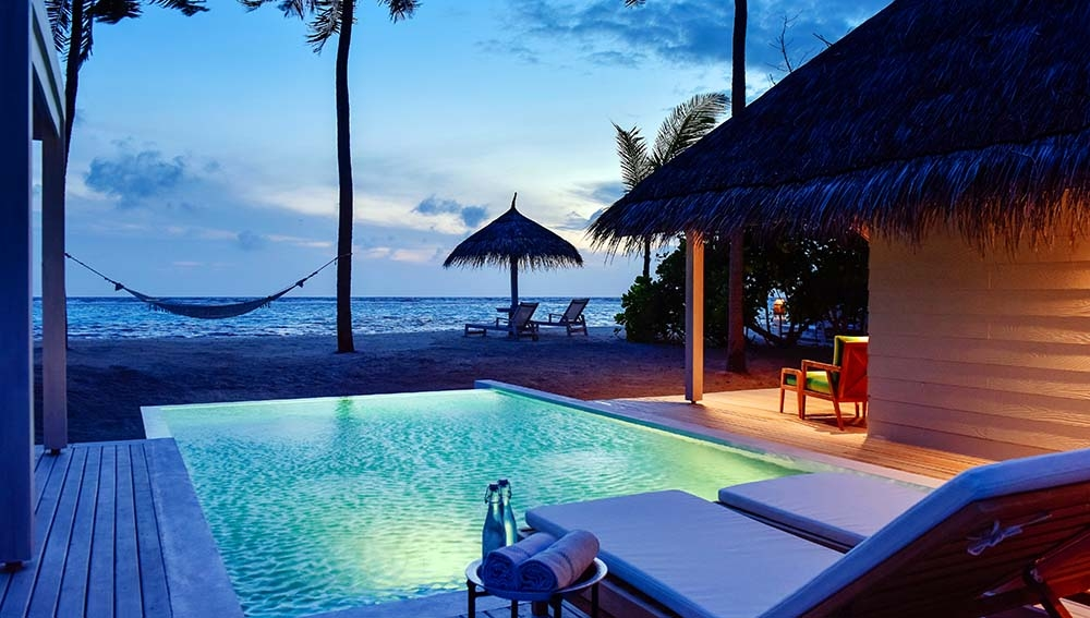 Kanuhura Resort Maldives Sanctuary Pool